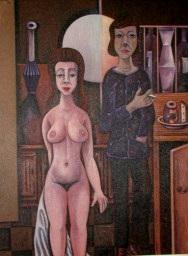 Junges Paar  1974  105 x 140