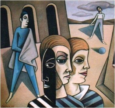 Die Maske  1988    106 x 100