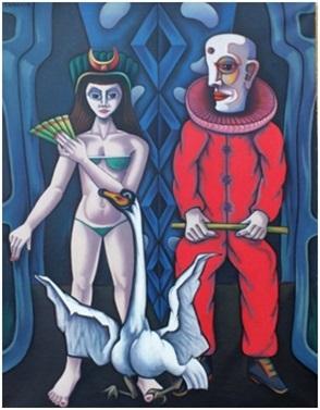 Zirkus I  1982  100 x 130