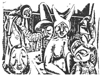 Artisten  1960    40 x 30