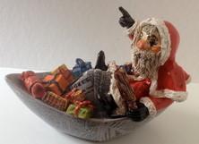 Santiglaus, Kässeli, Keramik, Fasnachtsfigur,