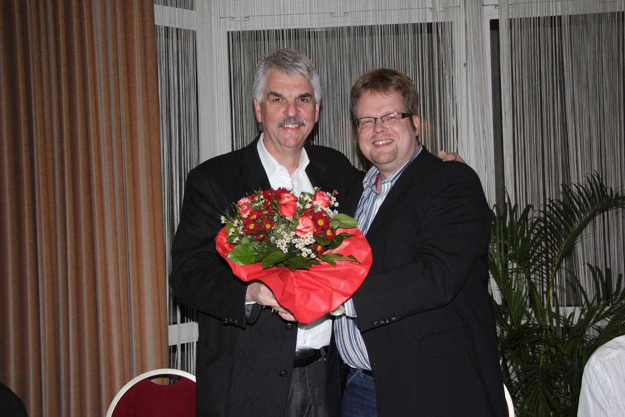 Holger Ansmann und Volker Block