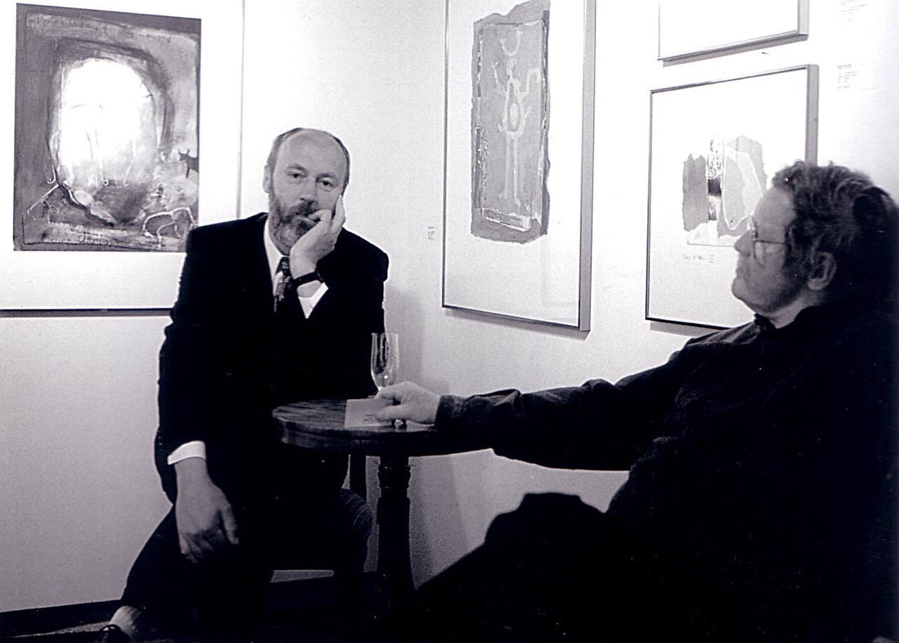 Prof. Pitt Moog und Ralph Herrmann