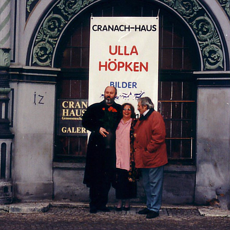 v.r. Horst Hausotte, Renate Götz, Ralph Herrmann, in Weimar