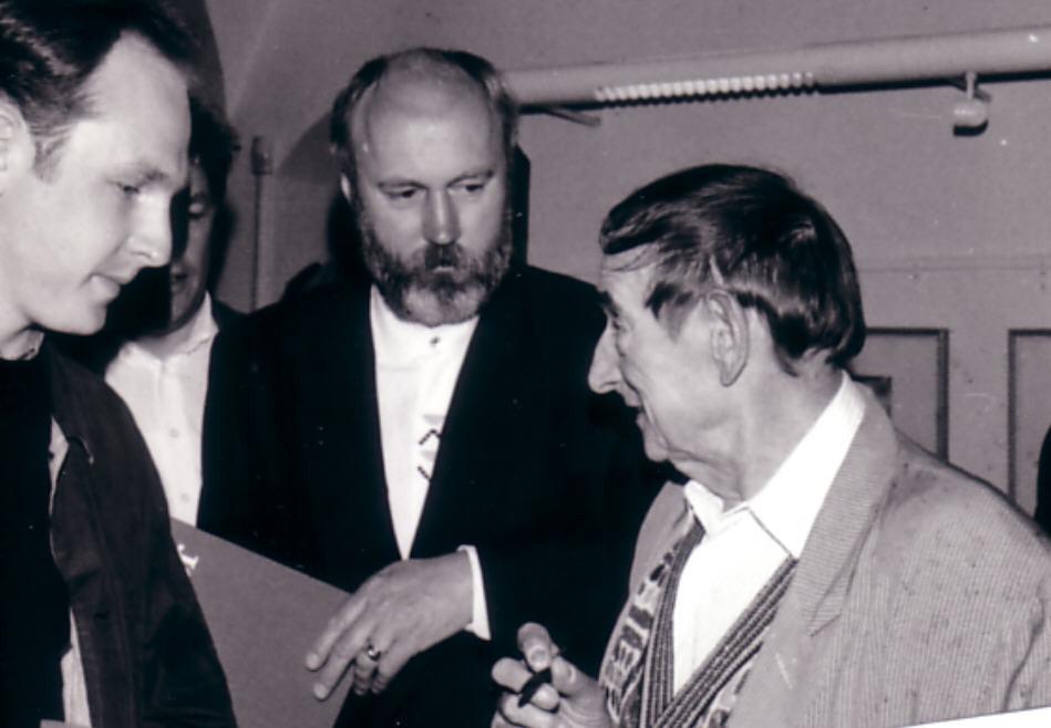 Emil Schumacher und Ralph Herrmann