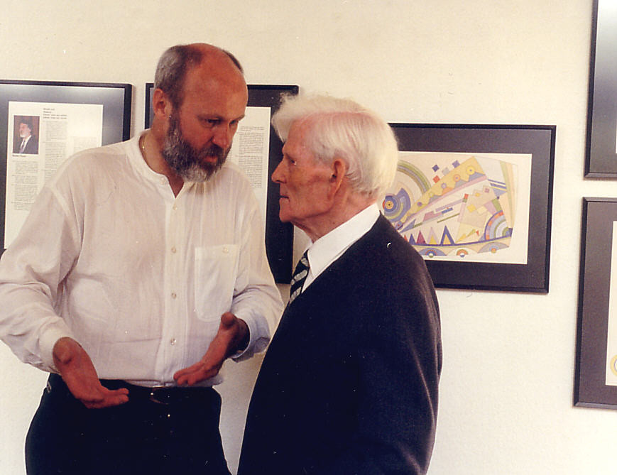 Bauhausschüler Heinrich Neuy und Ralph Herrmann