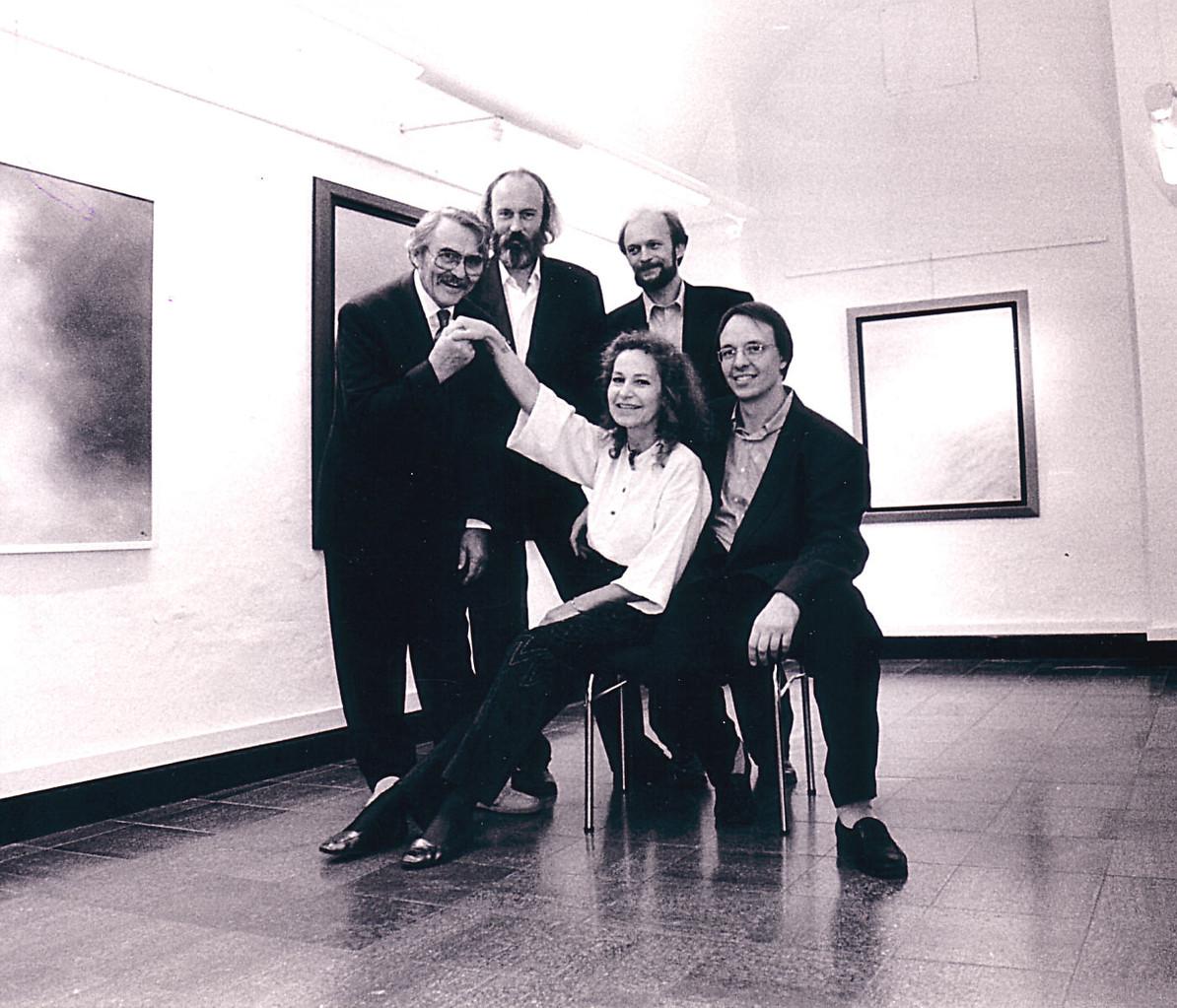 v.l. Horst Hausotte, Ralph Herrmann, Arno Wendland, Martin Buntrock, Ulla Höpken