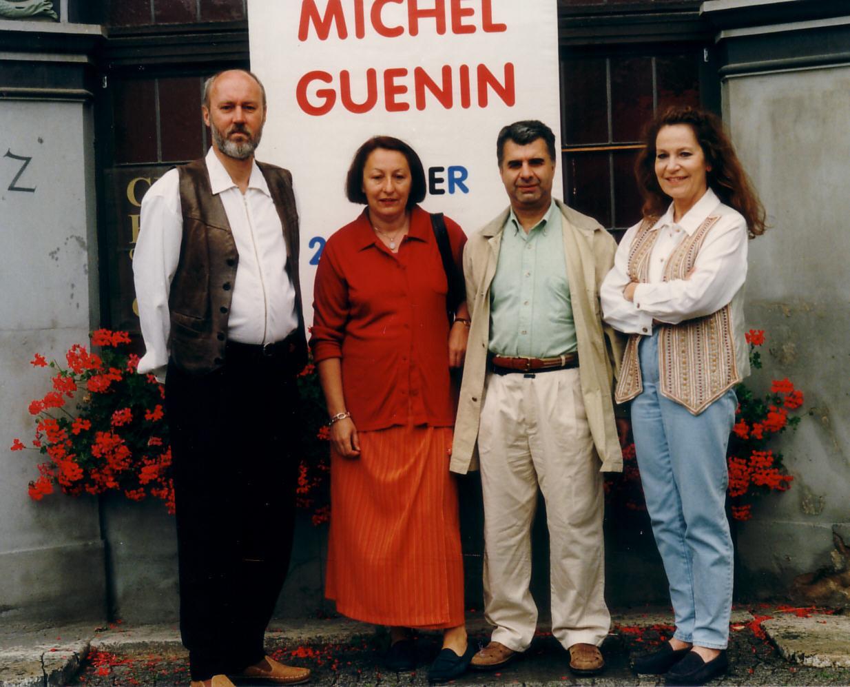 Ralph Herrmann, Claire Guinin, Jean Michel Guinin, Ulla Höpken