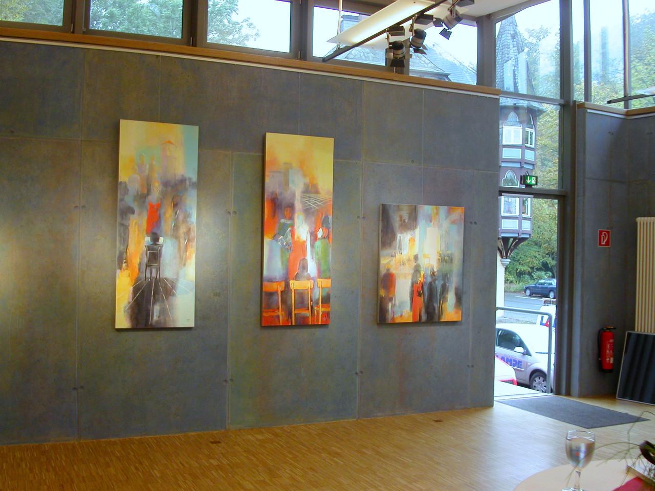Ausstellung im Sommertheater Detmold, 2009