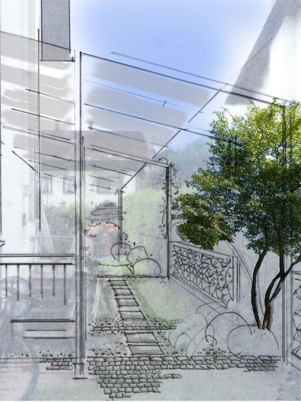 Meine projekte gartengestaltung paulus for Gartengestaltung nordseite
