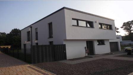 Einfamilienhaus ca. 230 qm  Baufertigstellung 08/2014  Ausführungsplanung, Ausschreibung und Bauleitung