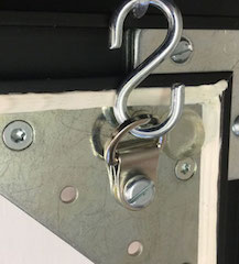 Bildaufhänger Metall