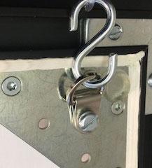 Depotschiebewand - Bildaufhänger - Robust