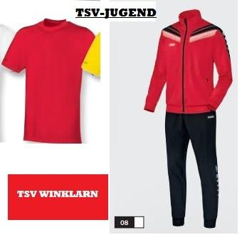Der Junioren-Anzug (Jako) kostet mit Preisvorteil ca. 35 Euro