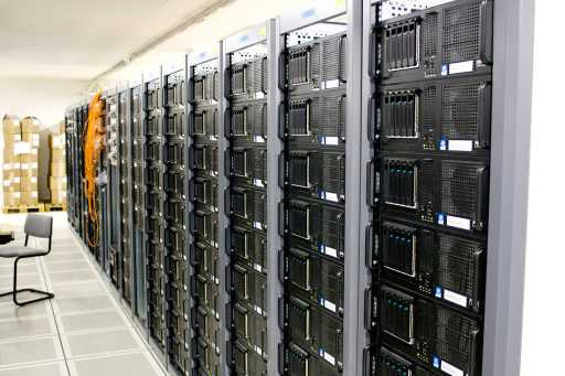 Robo-Advisor Sparplan server room