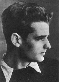 Hans Scholl, geboren am 22. September 1918 in Ingersheim