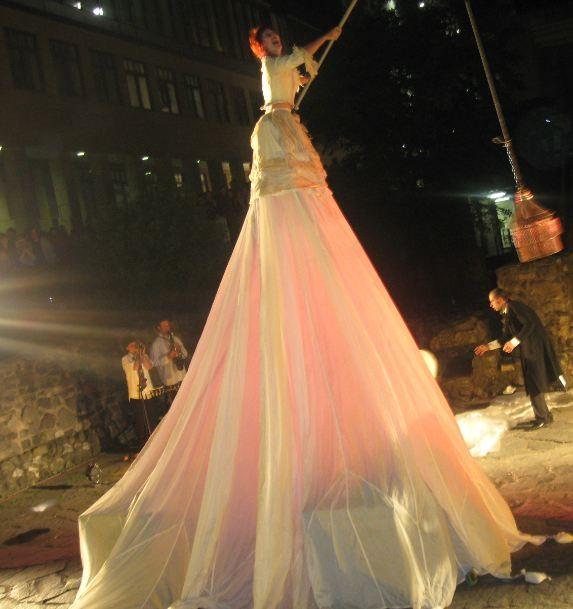 Eine Performance zur Lange Nacht der Museum in Ffm