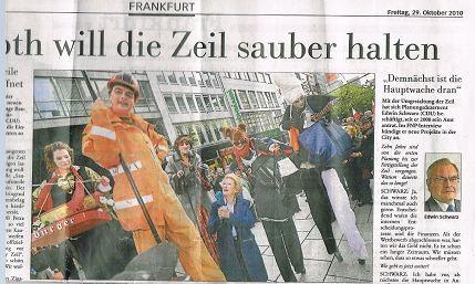 Presse Ffm macht Sauber
