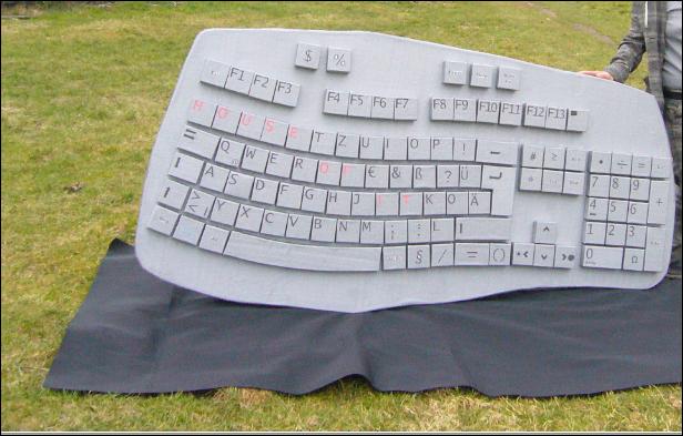 XXL Computer Tastatur