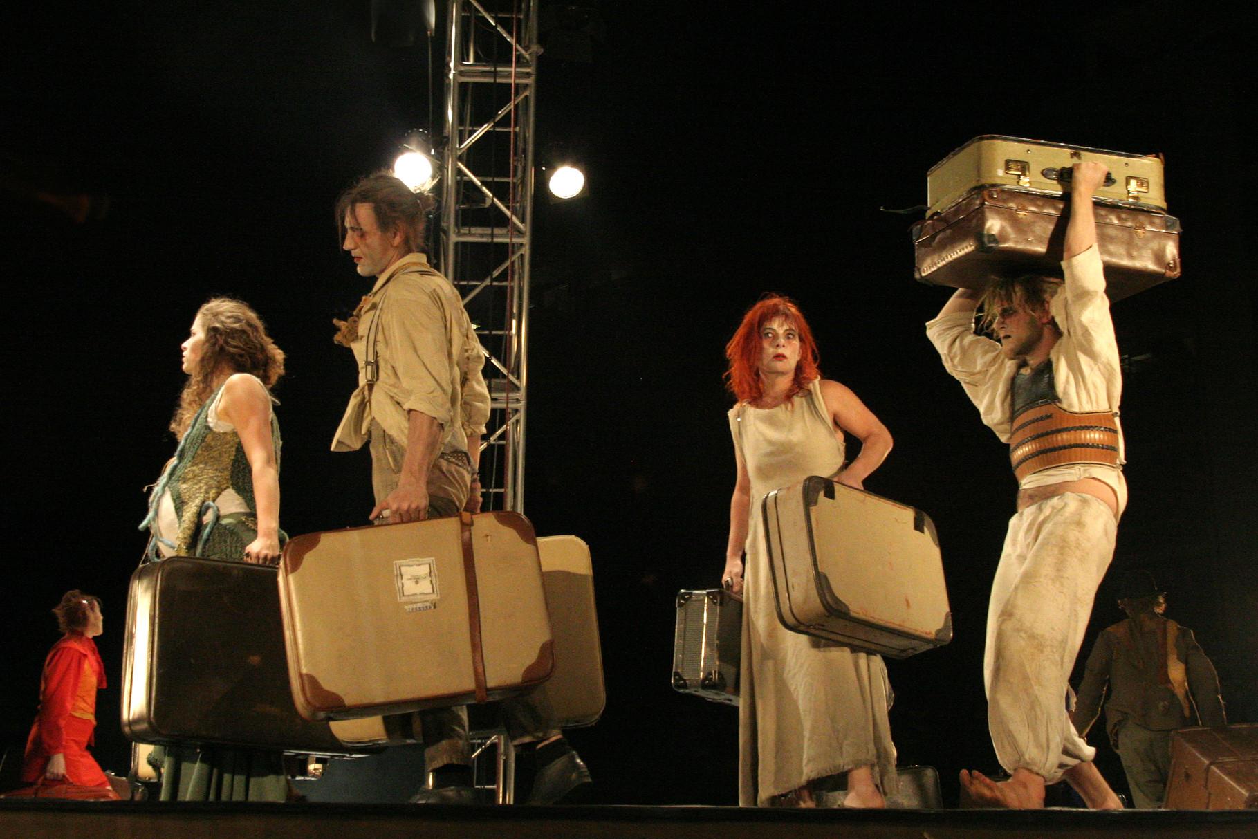 Szene aus Ginkgo ein Theaterstück