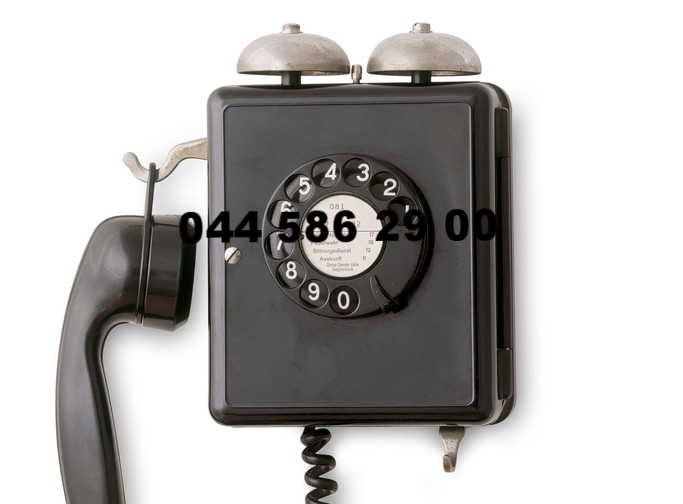 Aktuelle Telefonnummer 078 602 29 29
