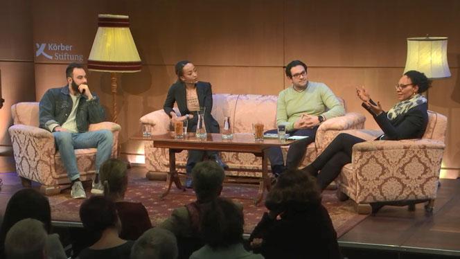 Drei Menschen aus unterschiedlichen Welten reflektierten im KörberForum, was Heimat für sie bedeutet und ob sie diese in Hamburg gefunden haben