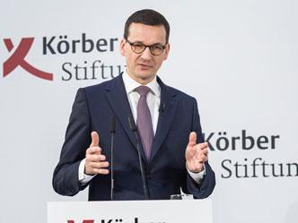 Der polnische Ministerpräsident Mateusz Morawiecki (Foto: Marc Darchinger)