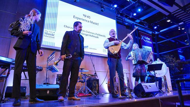 Multikulturelle Musik im KörberForum (Foto: Claudia Höhne)
