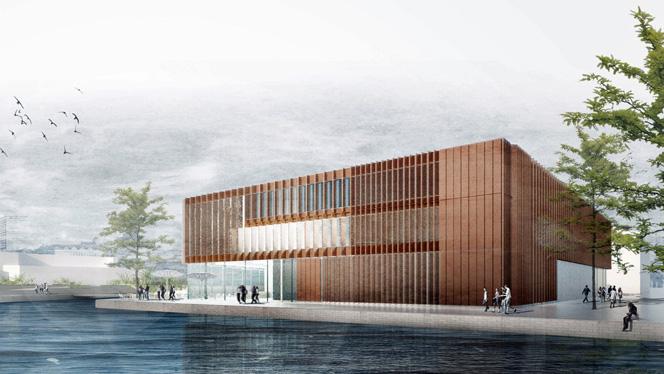 Das zukünftige KörberHaus (Foto: Büro MGF Architekten Stuttgart)