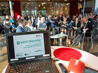 Das jährliche MINT:Barcamp im KörberForum (Foto: Claudia Höhne)