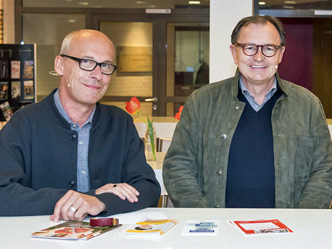 Andreas Bormann, Ewald Lienen (Foto: Bente Stachowske)