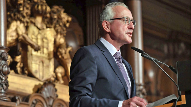 Lothar Dittmer, Vorstandsvorsitzender der Körber-Stiftung (Foto: David Ausserhofer)