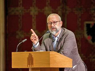 Der Politikwissenschaftler Herfried Münkler (Foto: MünsterView/Witte 2018)