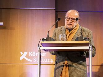 Der Exil-Iraner SAID im KörberForum (Foto: Claudia Höhne)