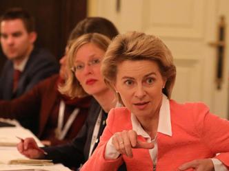 Verteidigungsministerin Ursula von der Leyen (Foto: Marc Darchinger)