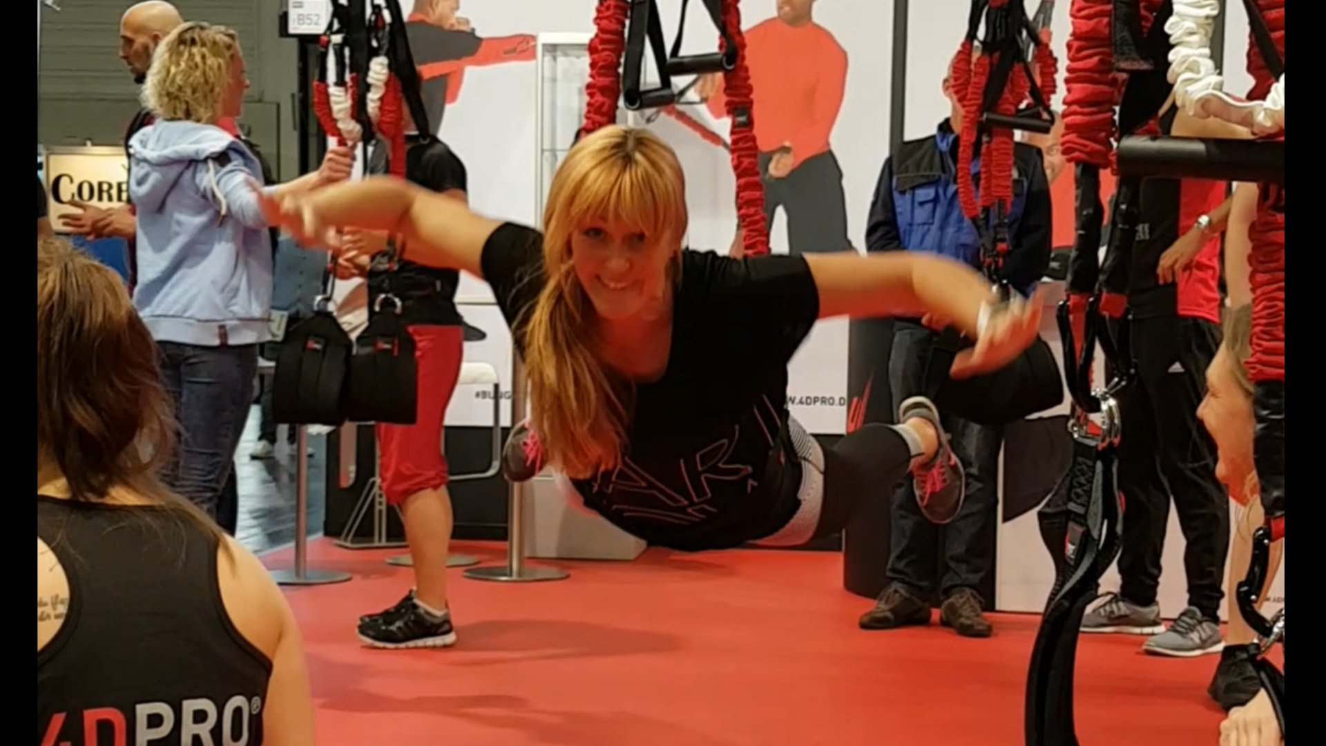 Bungee-Fitness: Mission Impossible im Schlingentrainer
