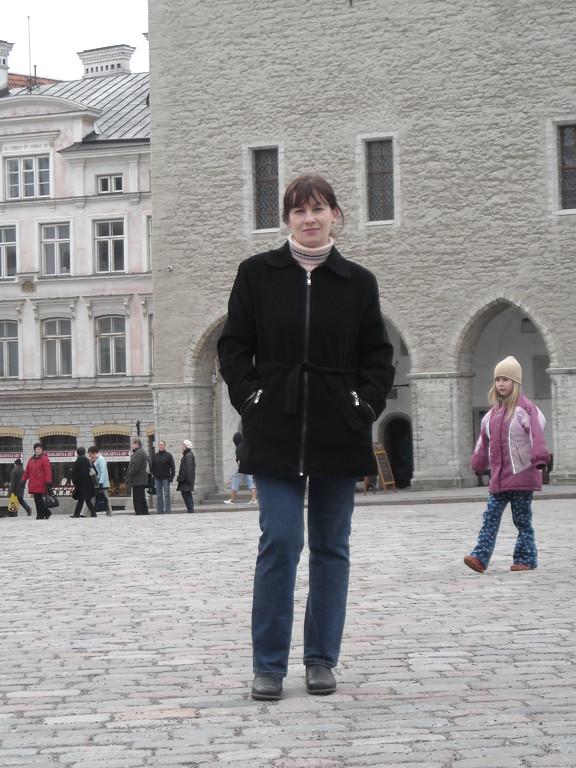 я на Ратушной площади
