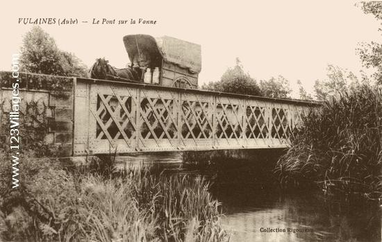 Le pont sur la Vanne RD 54