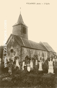 Eglise Saint Antoine Ermite de Vulaines