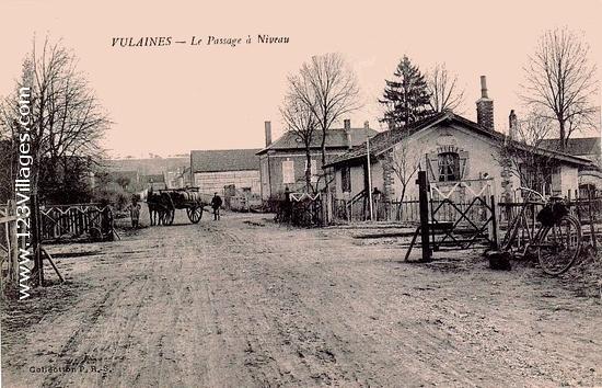 Passage à niveau route de Rigny
