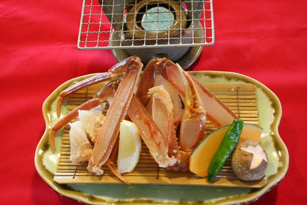 焼き蟹(夏場4月~10月は要問合せ)