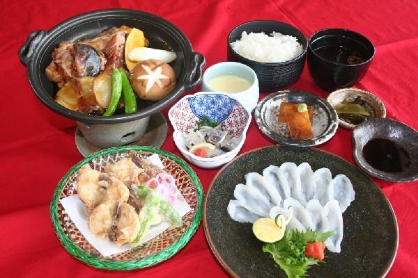 河豚三昧定食(要予約)