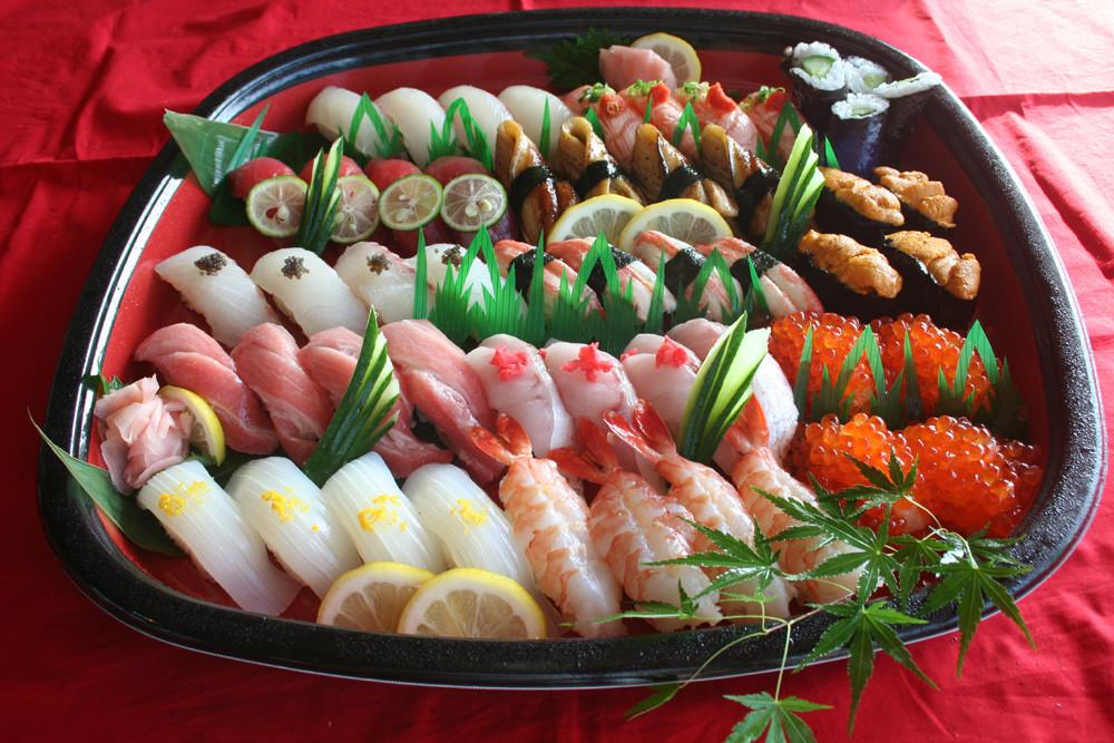 お持ち帰りパーティ寿司
