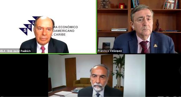 """Webinar internacional CLAD: """"La Integración Latinoamericana y el SELA"""""""