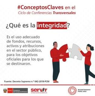 """Conferencia: """"Integridad aplicada a la función pública"""" - Perú"""