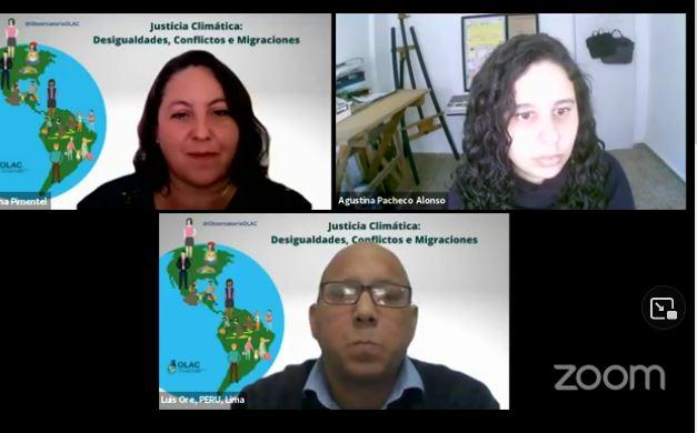 """Webinar: """"Justicia Climática: Desigualdades, Conflictos y Migraciones"""""""