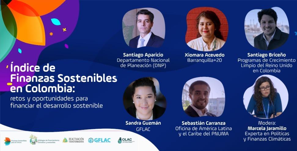 Presentación del Índice de Finanzas Sostenibles en Colombia: retos y oportunidades para financiar el desarrollo sostenible