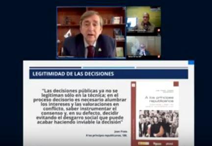 """Conferencia internacional: """"La necesidad democrática de una dirección pública profesional"""""""