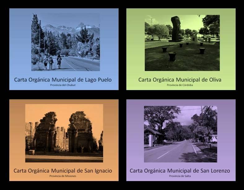 Presentamos: Trazos para la Participación Ciudadana en las Cartas Orgánicas Municipales: estudio de casos en Argentina