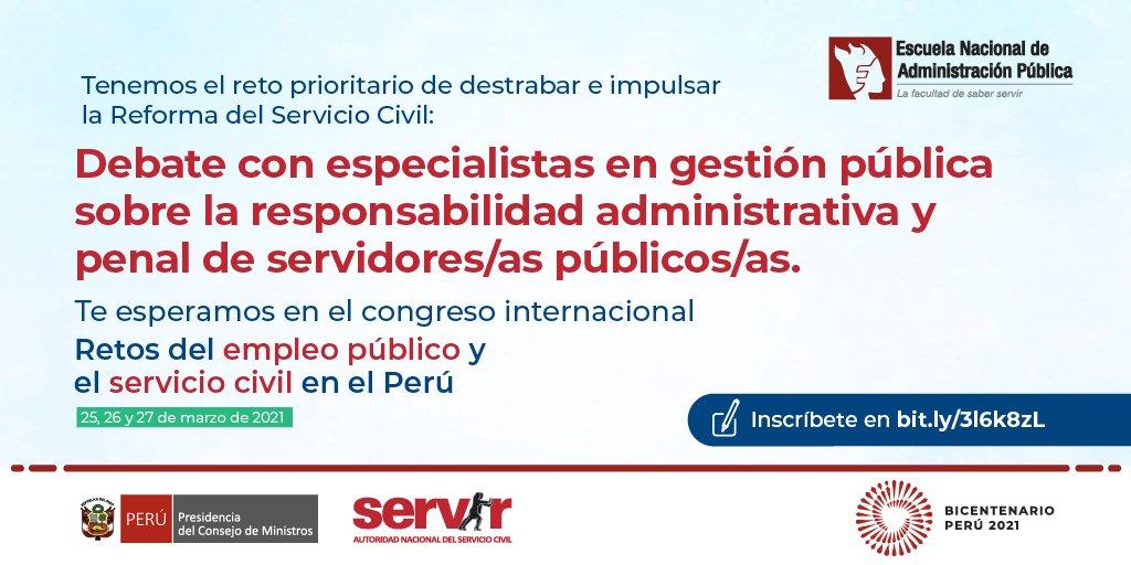 """Mesa de debate: Responsabilidad Administrativa y responsabilidad penal de los servidores públicos"""" del Perú"""